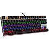 Механическая игровая клавиатура с подсветкой Metoo Zero X51, свитчи черные, фото 3