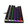 Механическая игровая клавиатура с подсветкой Metoo Zero X51, свитчи черные, фото 4