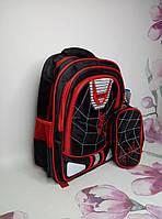 Рюкзак с пеналом школьныйдля мальчика
