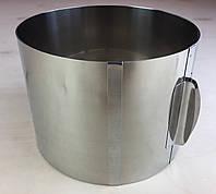 Раздвижное кольцо для выпечки ( 20 см * 40 см * 14 см ) .