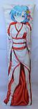 Дакімакура Подушка обнімашка 120х40 см із змінною наволочкою Рем, фото 3
