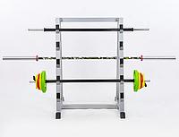 Подставка (стойка) для штанг и грифов TA-8216 (металл, р-р 90х85х127см), фото 1
