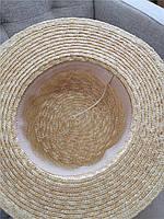 Женская соломенная шляпа. Модель 3025, фото 2