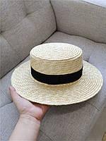 Женская соломенная шляпа. Модель 3025, фото 3