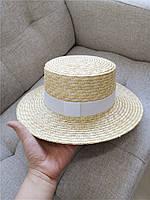 Женская соломенная шляпа. Модель 3025, фото 4