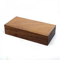 Брусок для рукоятки ножа древесина Азобе 125х29х59мм