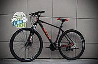 """Горный велосипед Oskar 29"""" Plus 600 черно-оранжевый"""