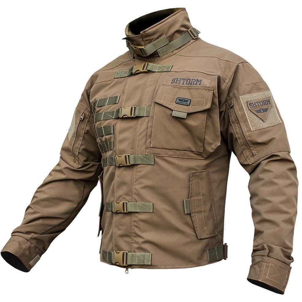 """Куртка тактическая """"SHTORM"""" COYOTE"""