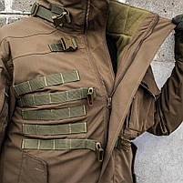 """Куртка тактическая """"SHTORM"""" COYOTE, фото 4"""
