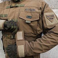"""Куртка тактическая """"SHTORM"""" COYOTE, фото 8"""
