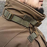 """Куртка тактическая """"SHTORM"""" COYOTE, фото 3"""
