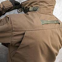 """Куртка тактическая """"SHTORM"""" COYOTE, фото 7"""