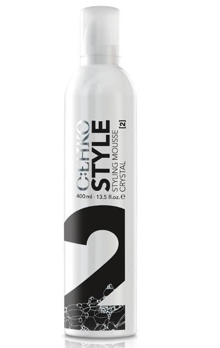 Пена для укладки волос Кристалл (2) C:EHKO Style Mousse Crystal 400 мл