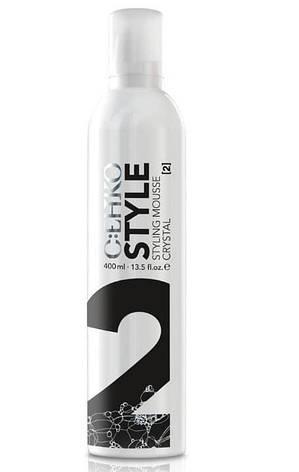 Пена для укладки волос Кристалл (2) C:EHKO Style Mousse Crystal 400 мл, фото 2