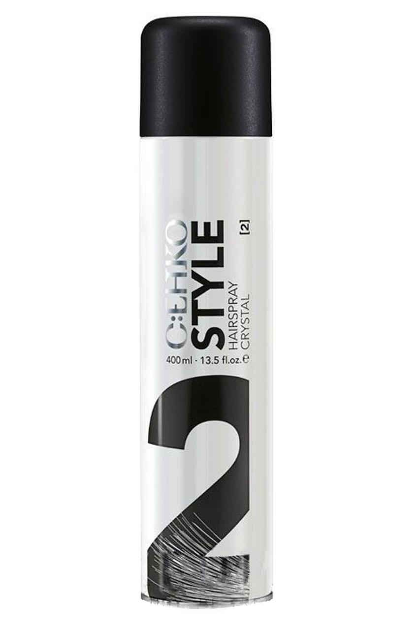Лак для волос Кристалл (2) C:EHKO Style Hairspray Crystal 400 мл