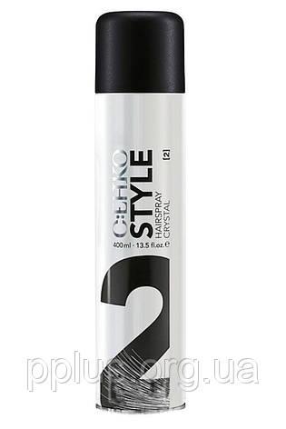 Лак для волос Кристалл (2) C:EHKO Style Hairspray Crystal 400 мл, фото 2