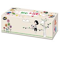Салфетки бумажные, двухслойные в коробке, 150 шт
