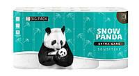 Туалетная бумага Снежная панда Extra Care 3 слоя, 16шт Sensitive