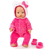 Одежда для куклы BABY BORN - Комбинезон hello kitty