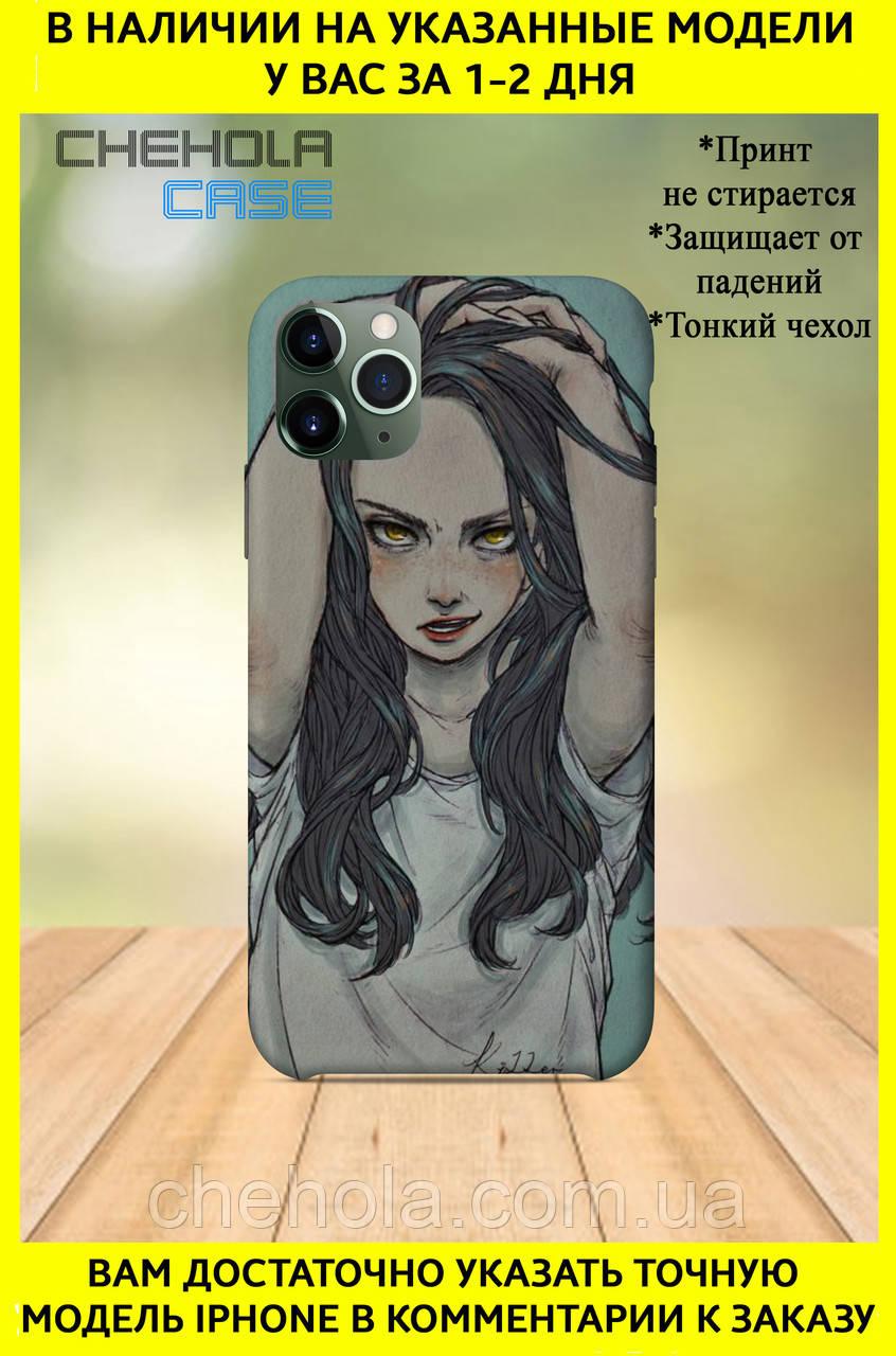 Чехол для iphone 11 Pro Max Pro для девушек красивый красивая девушка