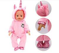 Одежда для куклы BABY BORN - Комбинезон Unicorn