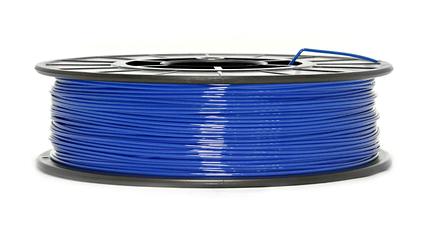 CoPET (PETg) пластик для 3D  друку .  1.75 мм.  0.75 кг.  3dplast Синій