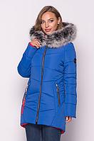 Женская куртка зимняя MODA 000318-2 (44 - 54) S - 3ЧД Синий