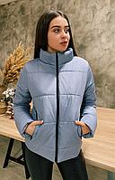 Куртка женская демисезонная КML 0020/5 XS-4XL (42-56) Серый