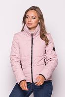 Демисезонная женская куртка MODA 0036 /01 (42-52) XS-XXL Розовый