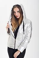 Демисезонная женская куртка KML K 00191 /01 (42) XS Серебристо-светлый (K 00191 /01 A)