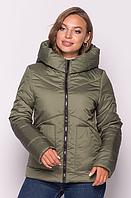Куртка женская демисезонная MODA 00047/5 (42-52) XS-XXL Хаки