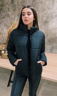 Куртка женская демисезонная КML 0020/1 XS-4XL (42-56) Черный
