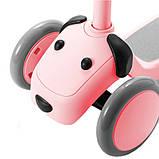 Детский самокат-кикборд Xiaomi Xiaoxun Meng Pet Dog Scooter (XPWJC1000) Pink, фото 2