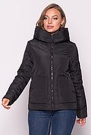 Куртка женская демисезонная MODA 00047/3 (42-52) XS-XXL Черный