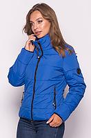 Демисезонная женская куртка MODA 0036 /03 (42-52) XS-XXL Синий