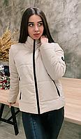 Куртка женская демисезонная КML 0020/6 XS-4XL (42-56) Бежевый