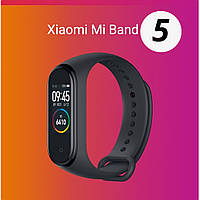 В НАЛИЧИИ! Фитнес трекер Xiaomi Mi band 5 original Black China version