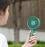 Портативный вентилятор Xiaomi VH Portable Handheld Fan Green, фото 3
