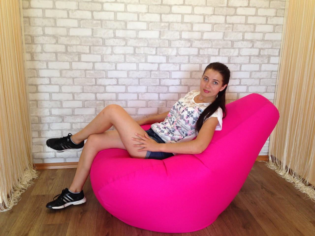 Кресло Мешок, бескаркасное кресло Груша ХХХL ( большой размер 140*100 см) -самый комфортный размер для всех !