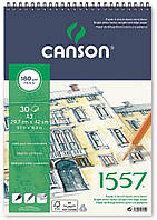Альбом для рисунка Canson™ 1557 /180 g, A3, 30 листов на спирали/