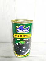 Оливки Diamir черные без косточки Diamir Aceitunas Negras 345г Diamir ж/б