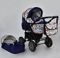 Коляска для новорожденных Viki (трансформер зима-лето), Синяя 86- С 230