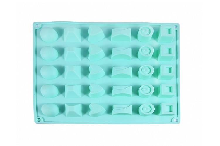 Форма для льда и шоколада силиконовая Fissman 6555