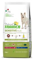 Корм Trainer (Трейнер) Natural Sensitive Plus Adult Medium Maxi With Horse для собак середніх та великих порід (конина), 12 кг