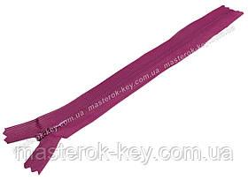 Молния потайная Тип 3 18см неразъемная цвет Грязно-розовая 524