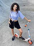Женские   шорты  с высокой талией на резинке, фото 3