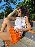 Женские   шорты  с высокой талией на резинке, фото 6