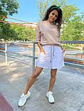 Женские   шорты  с высокой талией на резинке, фото 8