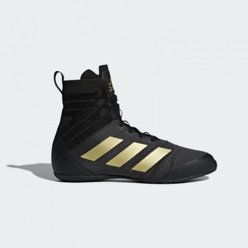 Обувь для бокса (боксерки) Adidas Speedex 18 (черный, AC7153)