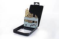 Набор сверл по металлу Р6М5 титан метал бокс 2,0-8,0мм 13шт Apro